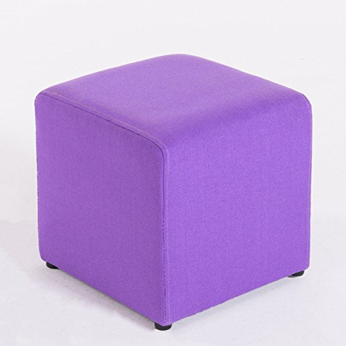 Purple Fabric Footrests With Ebook (Leather Set Footboard)