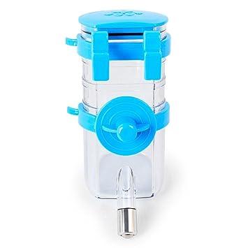 Aolvo Dispensador de agua seguro para mascotas, sin goteo, antigoteo, botella de agua automática para mascotas, ...
