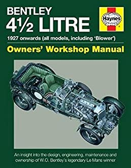 bentley 4 1 2 litre owners workshop manual 1927 onwards all rh amazon com 2.2 Liters Gallons 2 Liters Equals Cups