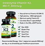 INNERZYME VITAMIN K2, MK-7 300MCG 90 capsules