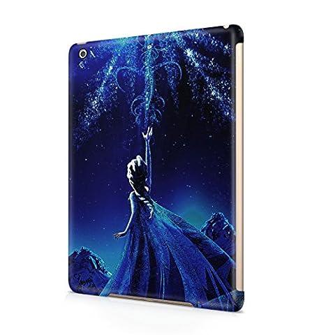 Frozen Princess Elsa Hard Plastic Tablet Snap-On Case Cover For Apple iPad Air (Elsa Ipad Air Case)