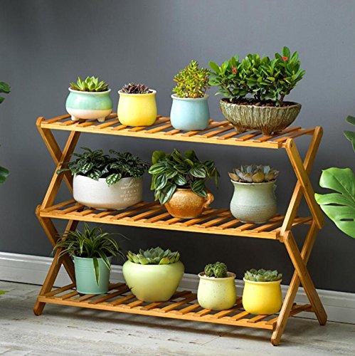 Cheap Flower Pot Plant Stand Flower Planter Rack Shelf Shelves Organizer Garden (3 Tiers)