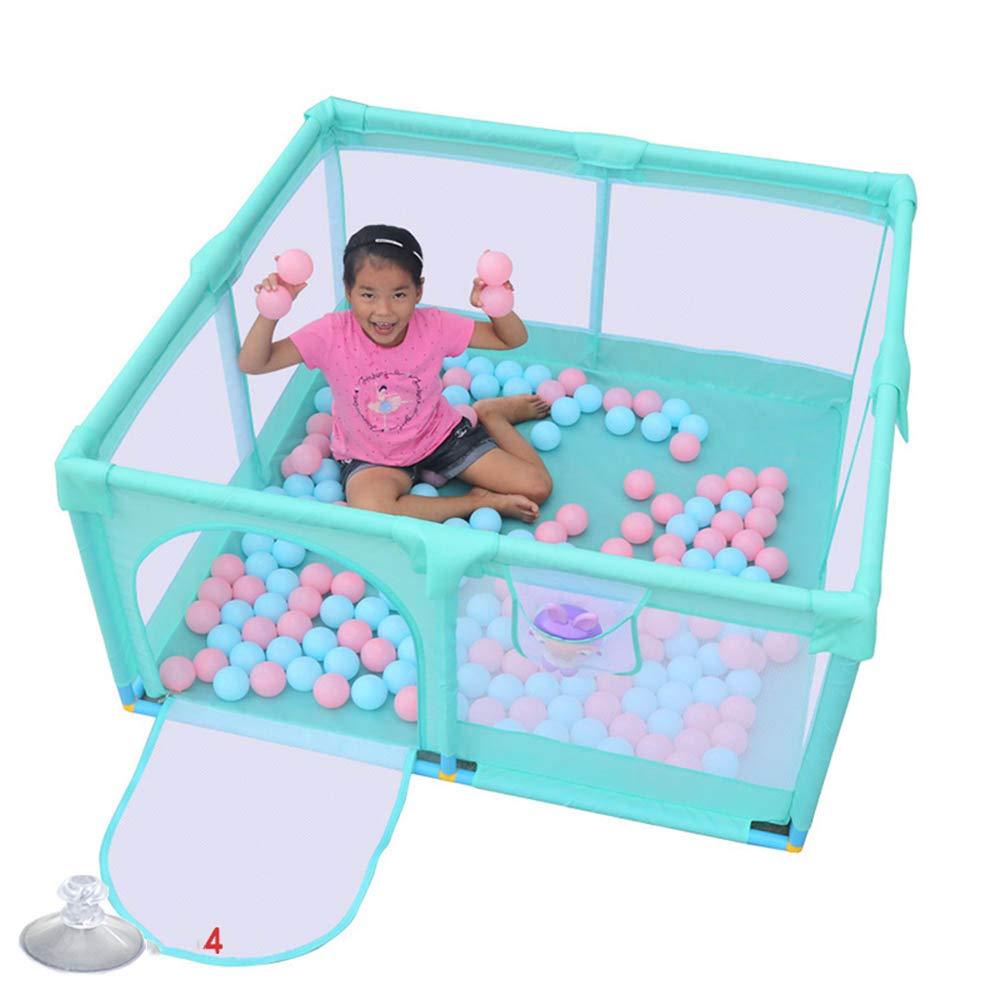 HUO 赤ちゃん増強強化ゲームフェンス屋内赤ちゃんクロールマット幼児フェンスフェンス - 青 (サイズ さいず : A1) A1  B07KWZKZ4Y