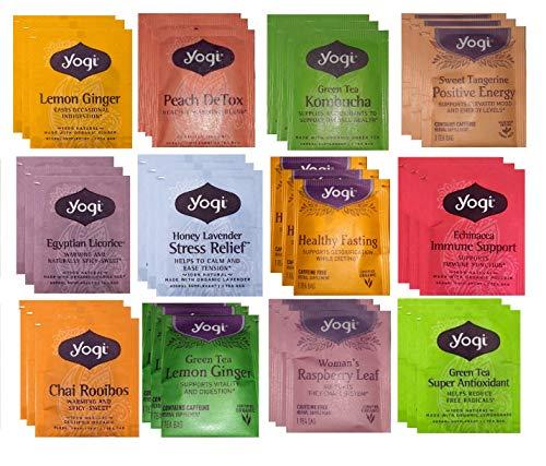 YOGI TEA SAMPLER 12 FLAVORS (36 TEA BAGS)