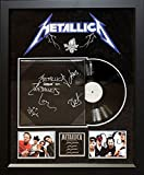 Metallica - Garage Inc - Signed LP Album Custom Framed