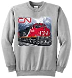 Canadian National C44-9W Authentic Railroad Sweatshirt Adult XXX-Large [75]