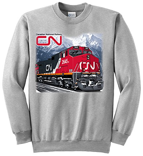 Canadian National C44-9W Authentic Railroad Sweatshirt Adult X-Large [75]