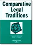 img - for By Mary Ann Glendon Glendon, Carozza, and Picker's Comparative Legal Traditions in a Nutshell, 3d (English and English E (3rd Edition) book / textbook / text book