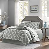 King Bed Comforter Sets for Sale Empire Home Galaxy Oversized Comforter Set Soft 10 Piece Bed in a Bag 4 Colors ALL Sizes - New ARRIval SALE! (California King, Grey)