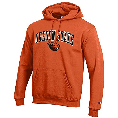 Elite Fan Shop Oregon State Beavers Hooded Sweatshirt Varsity Orange - (Osu Oregon State University)