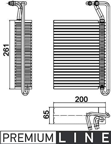 Mahle AE 84 000P Evaporator
