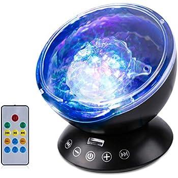 Amazon Com Light Projector Ocean Wave Projector Led