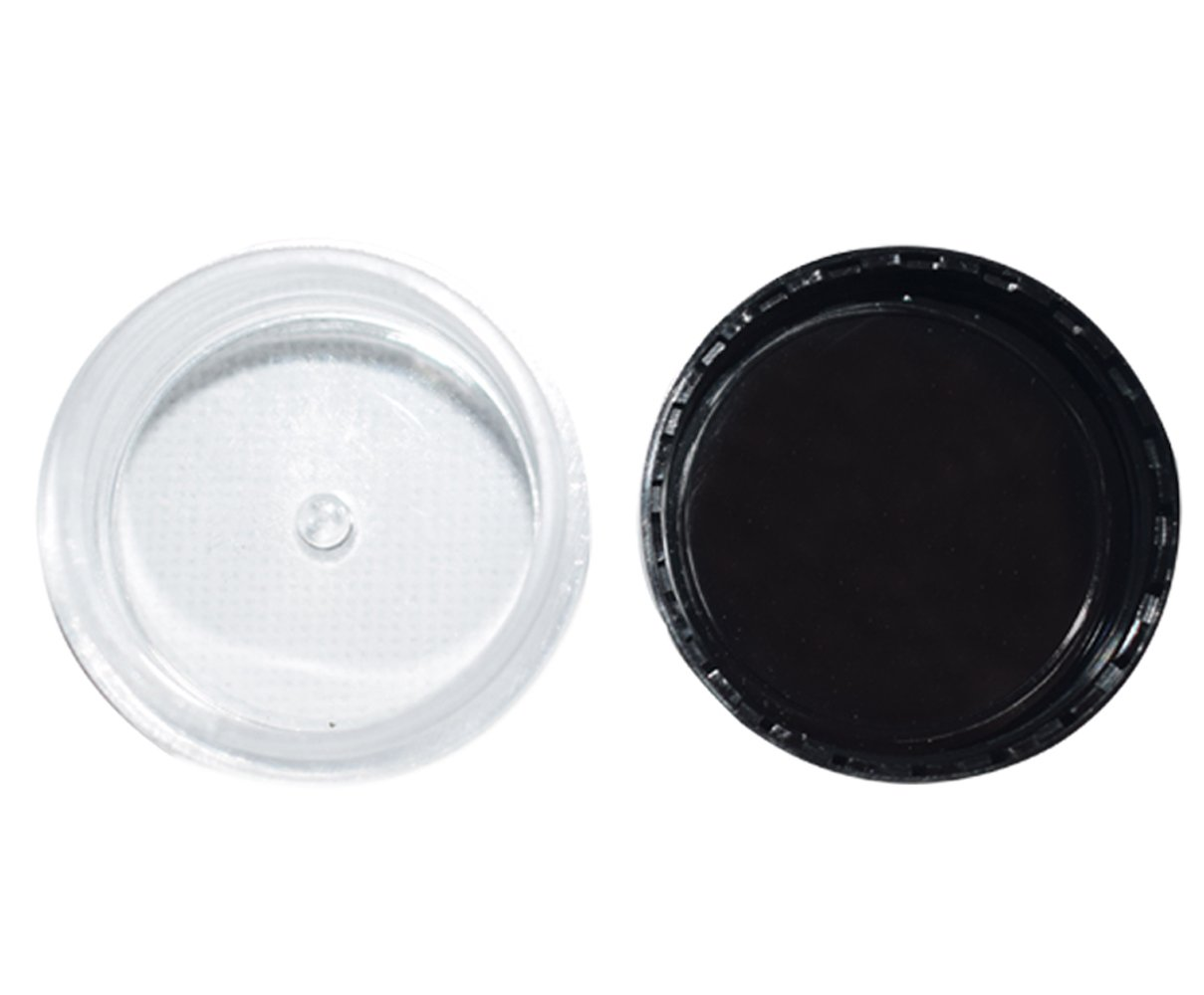 Bekith 108 set Clear Empty 5 Gram/5ML Plastic Pot Jars, BPA Free Cosmetic Sample Empty Container, Black Screw Cap Lid, for Make Up, Eye Shadow, Nails, Powder, Paint, Jewelry by Bekith (Image #5)
