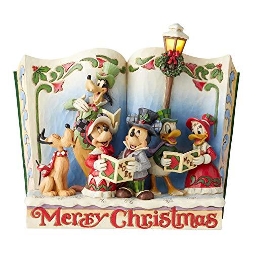 Disney Tradition 6002840 – Feliz navidad Mickey Mouse y amigos, storybook