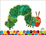 Oopsy Daisy Fine Art for Kids Eric Carle's The Very Hungry Caterpillar Canvas Wall Art by Eric Carle, 18 x 14''