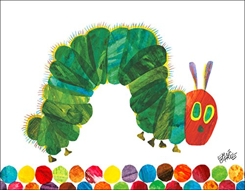(Oopsy Daisy Fine Art for Kids Eric Carle's The Very Hungry Caterpillar Canvas Wall Art by Eric Carle, 18 x 14)