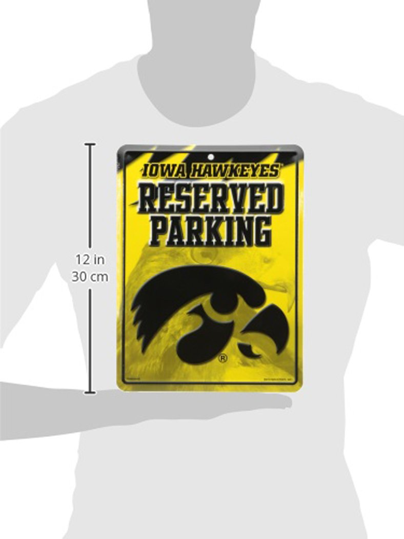 Rico NCAA Sports /& Fitness Parking Sign