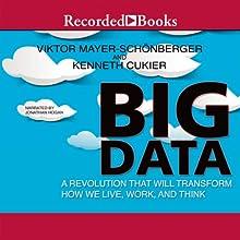 Big Data: A Revolution That Will Transform How We Live, Work, and Think | Livre audio Auteur(s) : Viktor Mayer-Schöberger, Kenneth Cukier Narrateur(s) : Jonathan Hogan