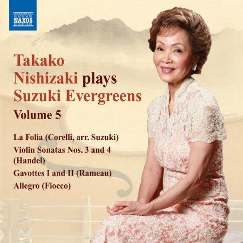 UPC 747313238279, Nishizaki Plays Suzuki Evergreens 5: Violin Sonata