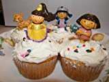 Dora the Explorer Cake Toppers / Cupcake Decorations