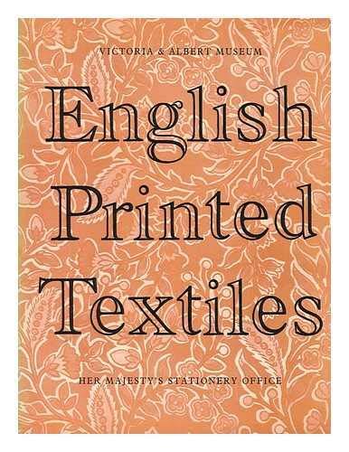 (English Printed Textiles 1720-1836 )