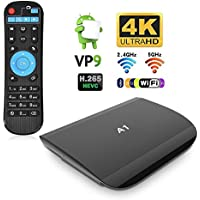TV Box Android 6.0 4K Smart Box Amlogic S912 Octo-core 2GHz 64-bit 2GB RAM 16G ROM Media Player Support Bluetooth 4.0 2.4G/5G Dual Band Wifi HDMI 2.0 for Home Entertainment