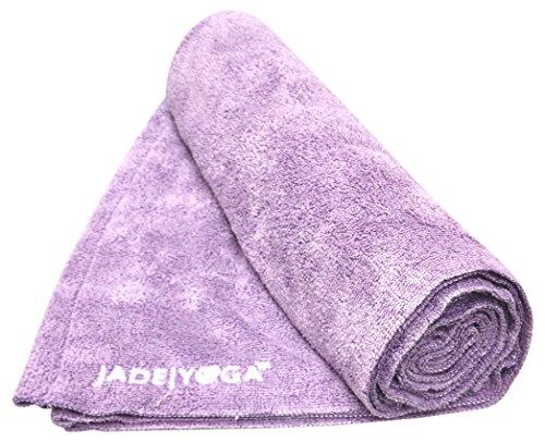 Jade Yoga Towel Yoga Microfiber Lavender 14In X 24In, 1 Each (Mat Yoga Jade Pink)