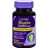 Natrol Biotin, 10,0000mcg, Tablets, 100 ea ( Multi-Pack)