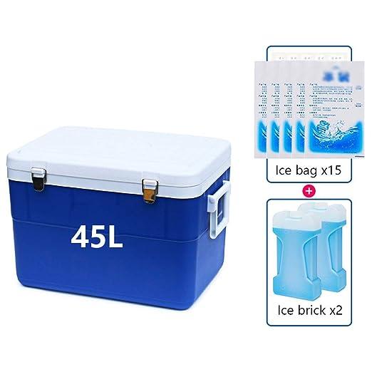 L insulated Box Nevera de Coche con asa, 5 l/8 l/13 l/38 l/45 l de ...