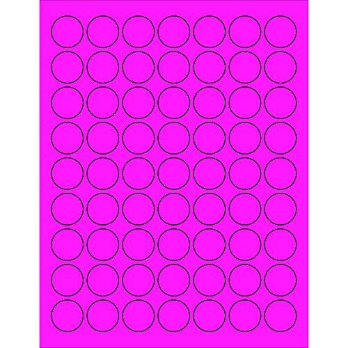 Tape Logic LL191PK Circle Laser Labels, 1