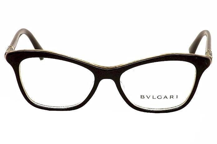 Occhiale da vista eyeglases Bulgari 4093B 5325 nero black sehbrille woman 6jqiDp4z