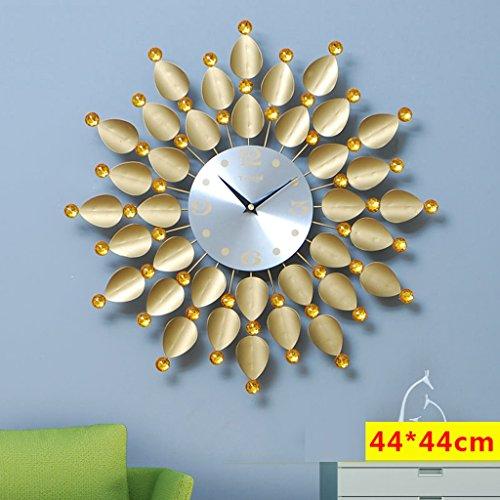 Edge To Wall hanging clock living room modern art creative clocks f