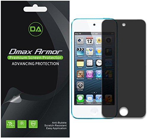 [2-Pack] Dmax Armor for Apple iPod Touch (5th / 6th Generation) Privacy Anti-Spy Screen Protector Shield - Lifetime Replacement