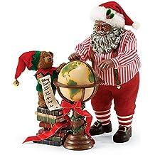 Department 56 Possible Dreams Across the Globe Santa Figurine