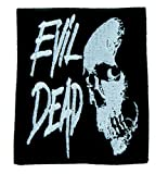 Evil Dead Demon Skull Patch Iron on Applique Alternative Clothing Horror Cult Film