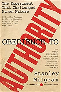 the individual in a social world essays and experiments stanley  obedience to authority an experimental view perennial classics