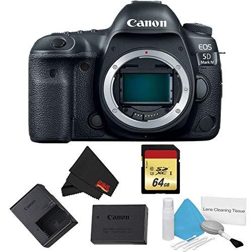(Canon EOS 5D Mark IV DSLR Camera (Body Only) Basic Kit - International Model)