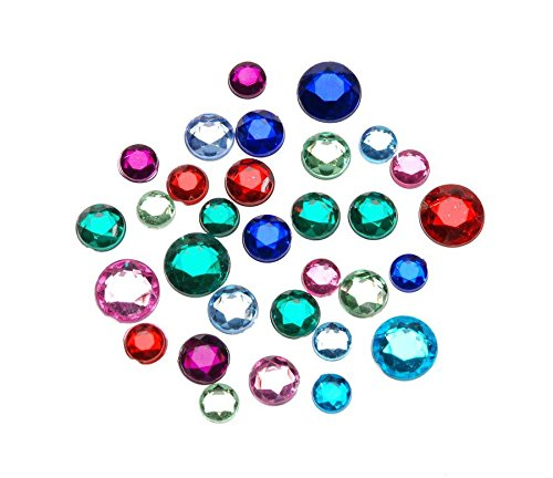 Darice Big Bag of Rhinestones, Multicolor