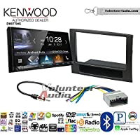 Volunteer Audio Kenwood DMX7704S Double Din Radio Install Kit with Apple CarPlay Android Auto Bluetooth Fits 2006-2008 Ram