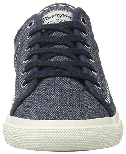 Wrangler Damen Starry America Sneakers Blau (Navy)