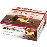 Detour Simple Salted Caramel Whey Protein Bar, 60 Gram -- 48 per case.