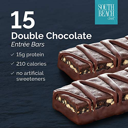 (South Beach Diet® Double Chocolate Entrée Bar,)