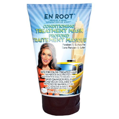 The Balm Cosmetics En Root Serious Conditions Ahead Deep Conditioning Mask, 6 Ounce