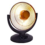 New Electric Parabolic Oscillating Infrared Radiant Space Heater W/Timer Home office