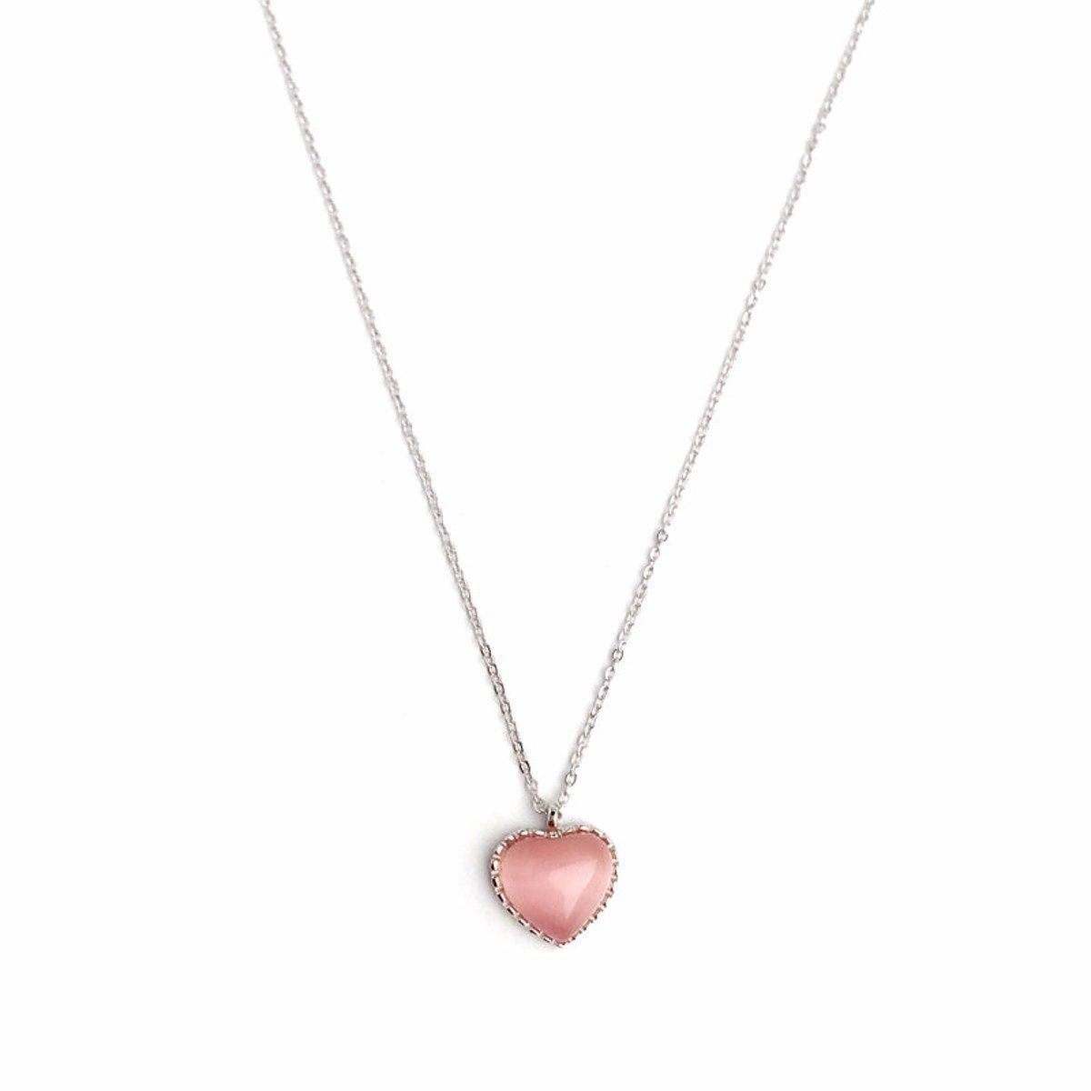 69b717a99c13 KUNQ-Joyas Collar De Plata 925 Joyas De De De Plata Pura Simple Auténtica