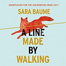 A Line Made by Walking Audiobook by Sara Baume Narrated by Heather O'Neill