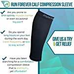 Calf Compression Sleeve – Leg Compression Socks for Shin Splint, Calf Pain Relief – Men, Women, and Runners – Calf Guard for Running, Cycling, Maternity, Travel, Nurses