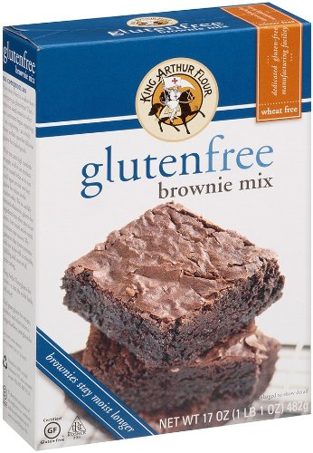 King Arthur Flour Brownie Mix, Gluten Free, 17 Ounce (Pack of 3)