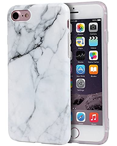 iPhone 7 Case, Imikoko™ Flexible Hard TPU Case Print Crystal for iPhone 7 4.7