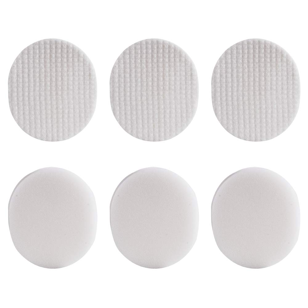HIFROM Replacement Vacuum Filter for Shark Navigator Rotator Professional NV70 NV71 NV80 NV90 NV95 NVC80C UV420 Vacuums Replaces Part# XFF80 & XHF80, Foam and Felt Filter Kit (3 set)